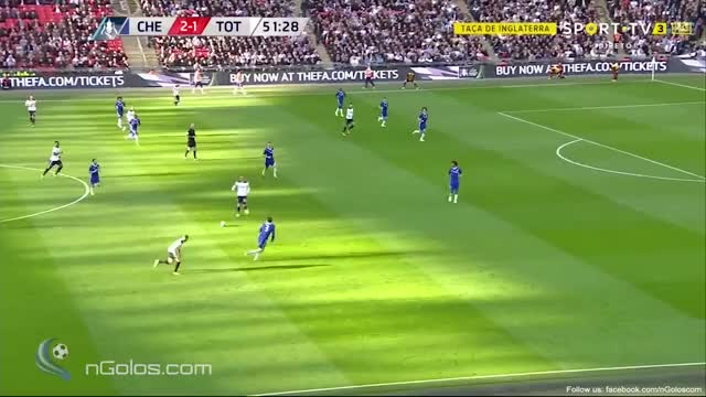 (www.nGolos.com) Chelsea 2-2 Tottenham - Dele Alli 52'