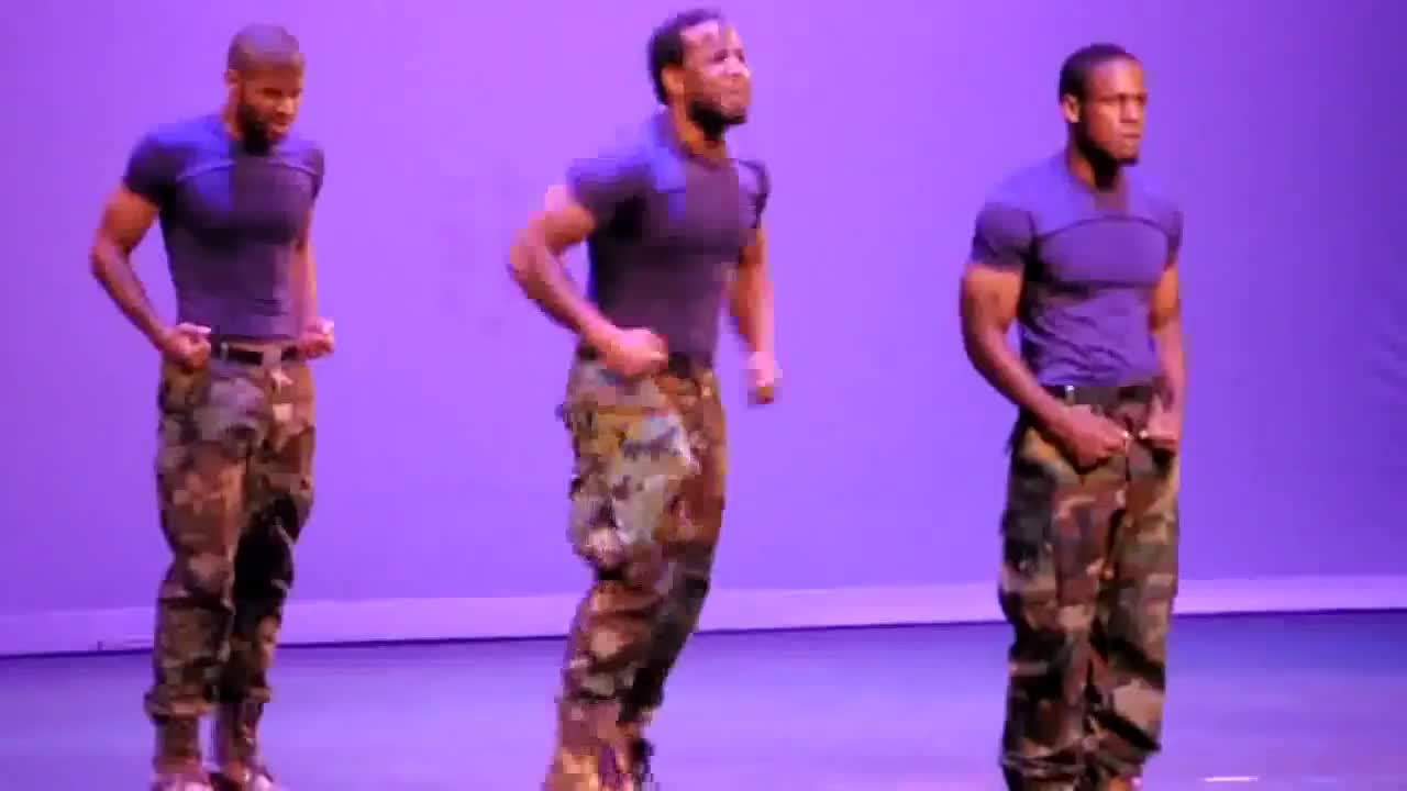 Omega Psi Phi - DK Ques - Georgia Tech Homecoming Step Show 2010 (Part 1) GIFs