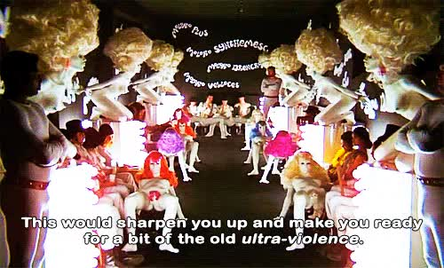 Watch and share A Clockwork Orange GIFs and Stanley Kubrick GIFs on Gfycat