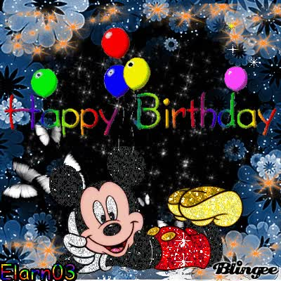 Happy Birthday Mickey Mouse Gif Images Gif Find Make Share