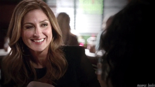 Maura Isles, RandI gifs, Rizzoli and Isles, maura's smile, s5e4, Perfect woman has perfect boobs. GIFs