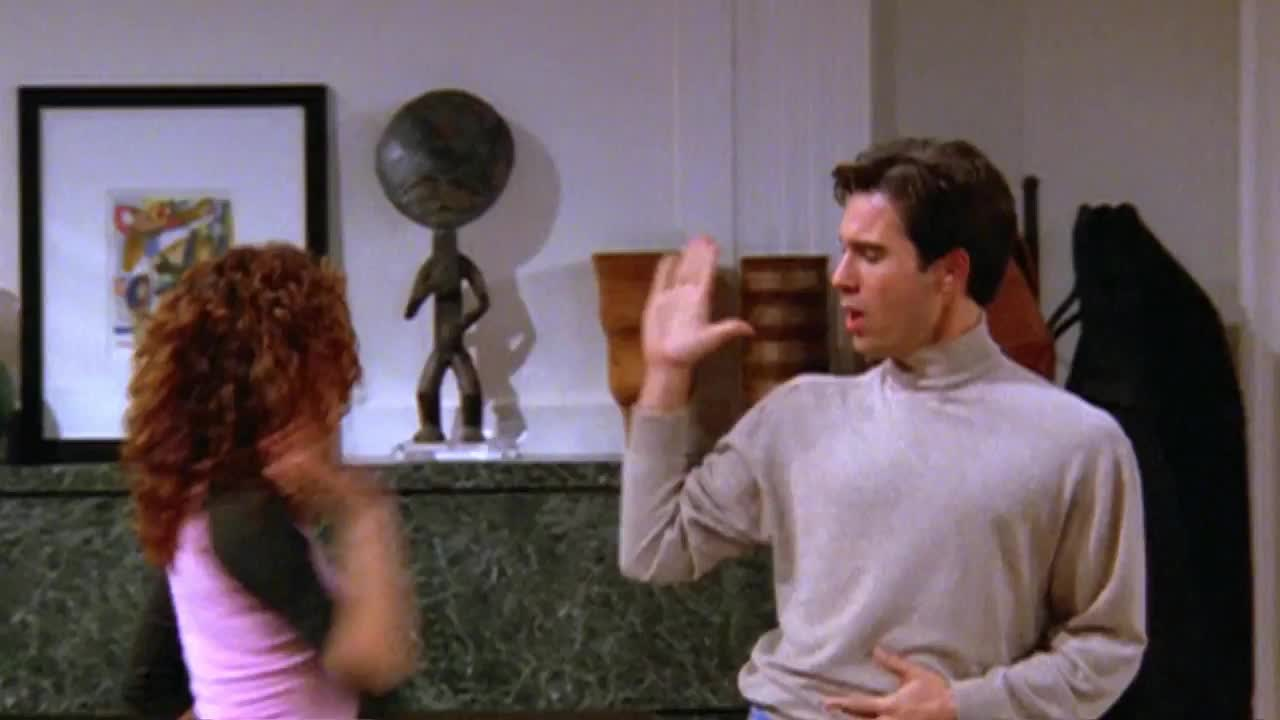 GIF Brewery, celebrate, dance, five, funny, grace, happy, high, new, season, will, Will and Grace GIFs