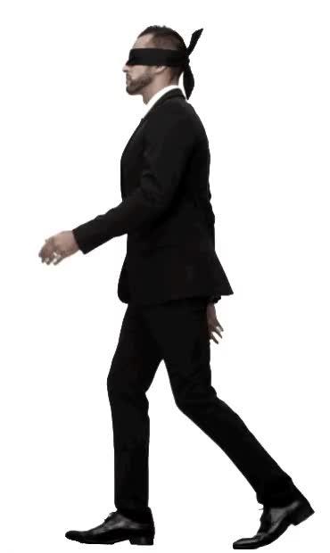 Watch and share Walking Man GIFs on Gfycat