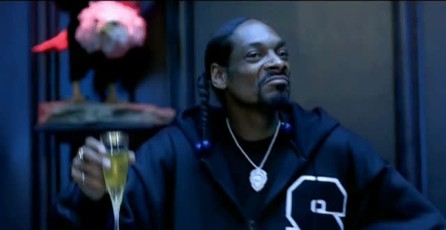 celebrate, champagne, cheers, dance, excited, happy, party, snoop dogg, yas, yes, Snoop Dogg Cheers GIFs