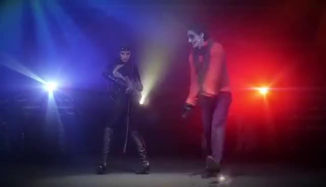 Watch Super Hero Dance Off GIF on Gfycat. Discover more Aaron Schoenke, Batman, Catwoman, Guardians of the Galaxy, Kevin Porter, Super Hero Dance Off, Tatiana DeKhtyar, The Joker GIFs on Gfycat