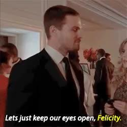 Watch and share Arrow Season Finale GIFs and Felicity Smoak Gifs GIFs on Gfycat