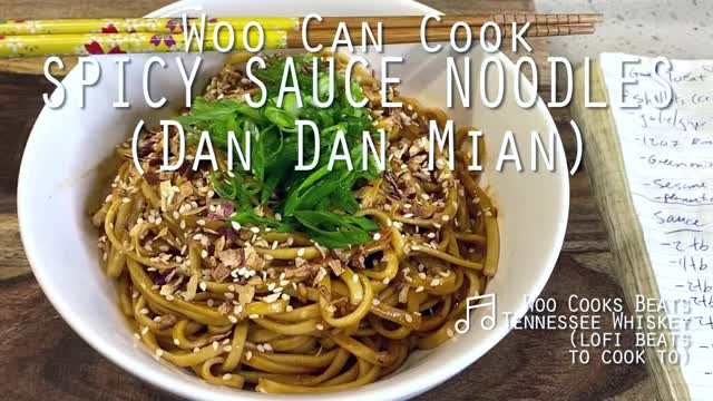 "Watch and share Woo Can Cook | Spicy Fried Shallot ""Dan Dan"" Noodles GIFs by WooCanCook on Gfycat"