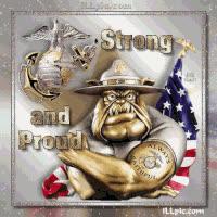 USMC Bulldog GIFs