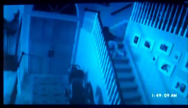 Paranormal Activity, stairs, Paranormal Activity GIFs