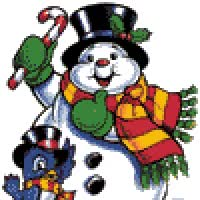Watch Christmas - Snowman GIF on Gfycat. Discover more related GIFs on Gfycat