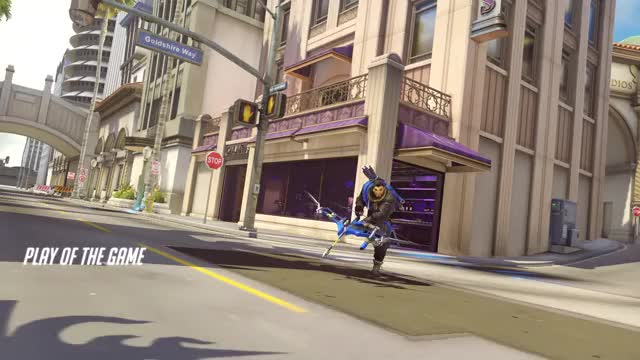 Watch and share Overwatch GIFs and Hanzo GIFs by kiyunn on Gfycat