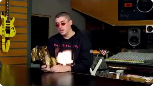 Watch campeones del mundo GIF by rj (@rjtonamen) on Gfycat. Discover more 10 things bad bunny can't live without, bad bunny, bad bunny essentials, benito, campeon, champion, gq GIFs on Gfycat