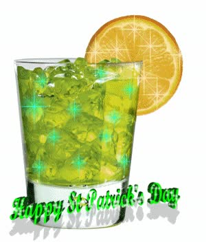 Watch and share Joyeuse Fête St-Patrick - Cocktail GIFs on Gfycat