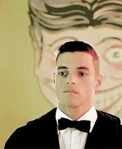 Watch and share Rami Malek GIFs and Mr Robot GIFs on Gfycat