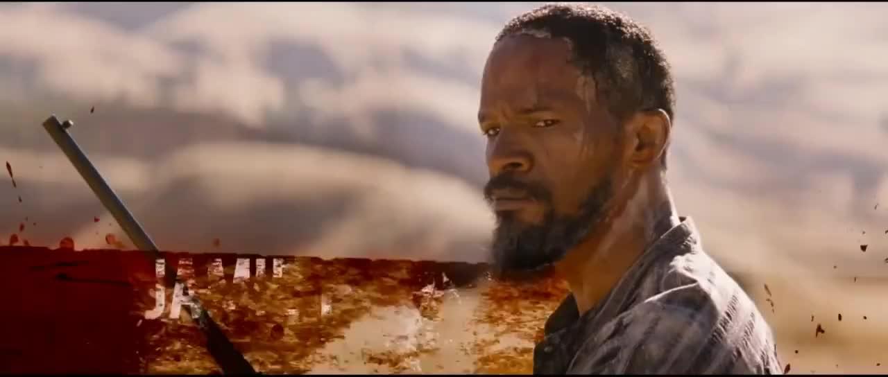 celebs, jamie foxx, Django Unchained - Official Trailer GIFs