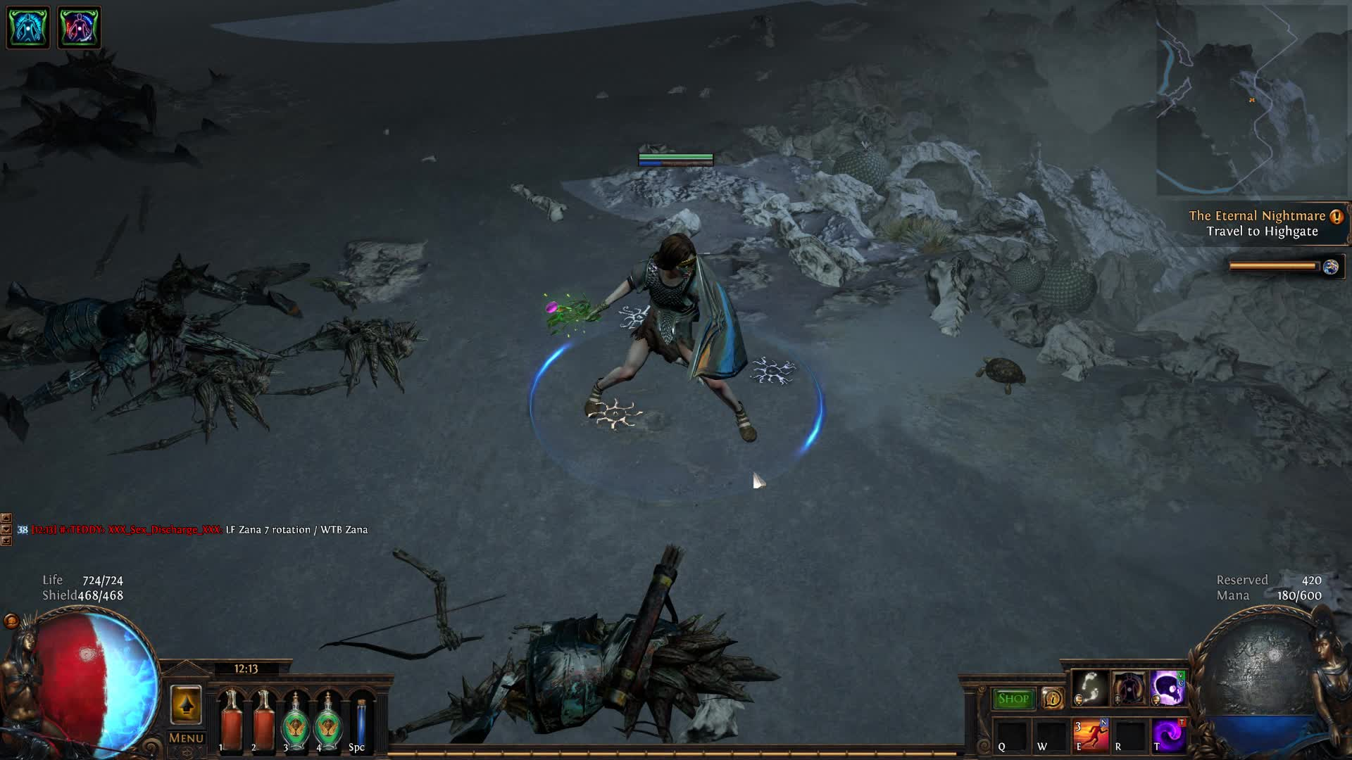 Path of Exile, Turtle GIFs