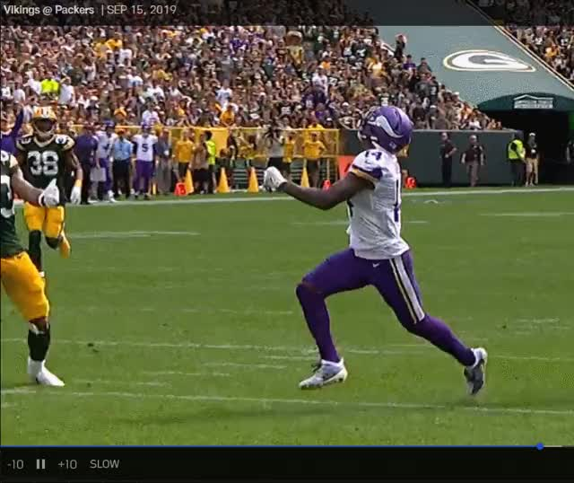 Watch and share Green Bay Packers GIFs and Minnesota Vikings GIFs by purp1eone on Gfycat