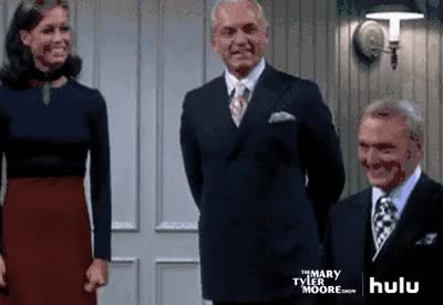 Watch and share RIP Mary Tyler Moore. You Were The Real MVP. (GIF: /hulu.com) GIFs on Gfycat