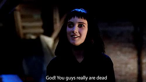 Watch and share Winona Ryder GIFs and Beetlejuice GIFs on Gfycat