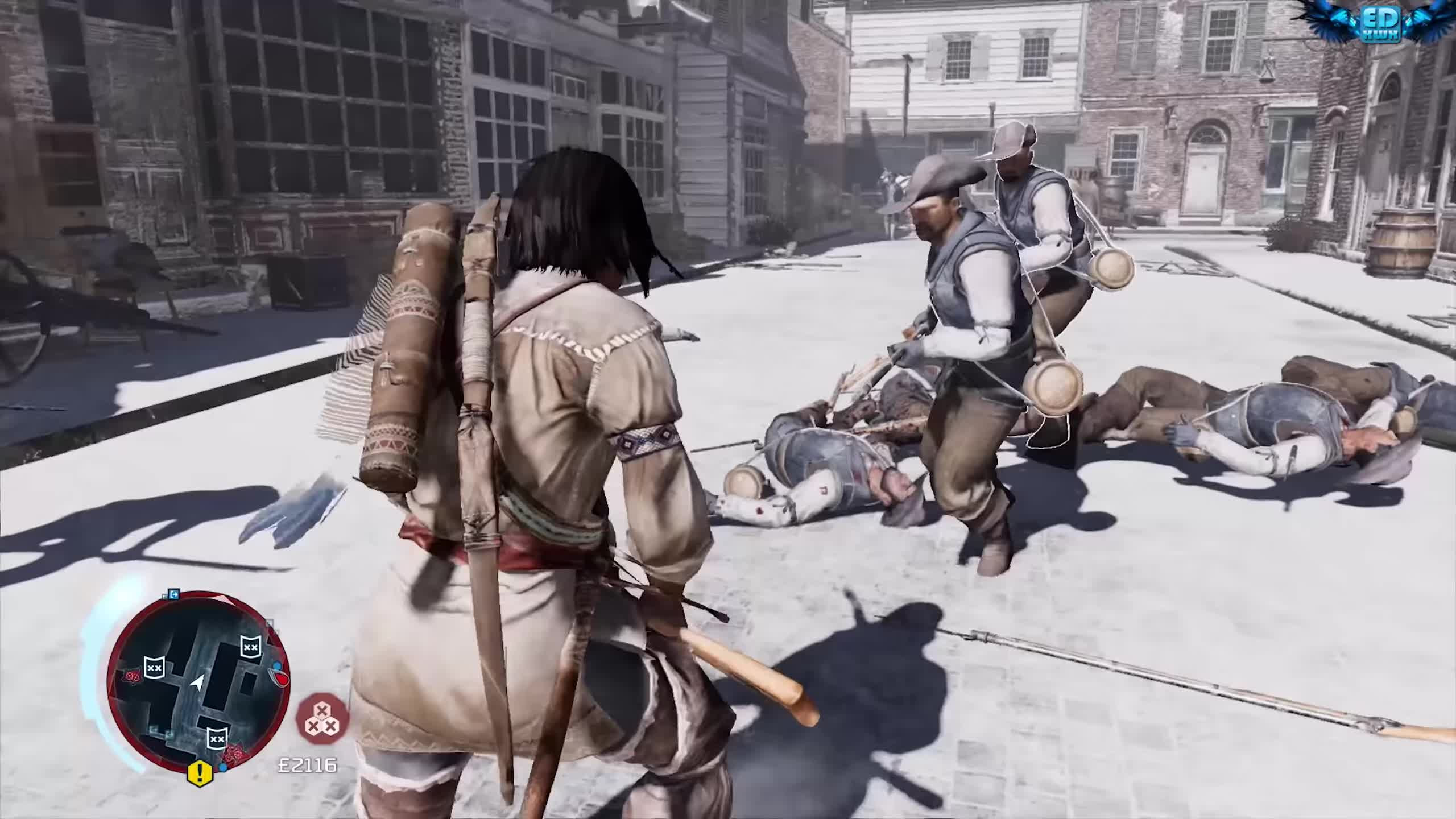 american revolution, assassin's creed 3, assassin-templar, british military, cinematic, connor, desmond miles, gameplay, historical action-adventure, multiplayer, open world, ps3, stealth, trailer, ubisoft, ubisoft montreal, video game, walkthrough, wii u, xbox360, Assassin's Creed 3 Remastered Young Master Connor Flawless Combat GIFs