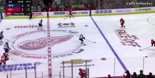 Watch and share Detroit Red Wings GIFs and Winnipeg Jets GIFs by peterwiim on Gfycat