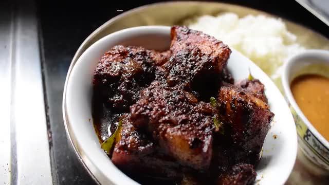 Watch and share Nadan Pork Ularthiyathu (Kerala-Style Braised Pork Belly) GIFs by MADARASI on Gfycat