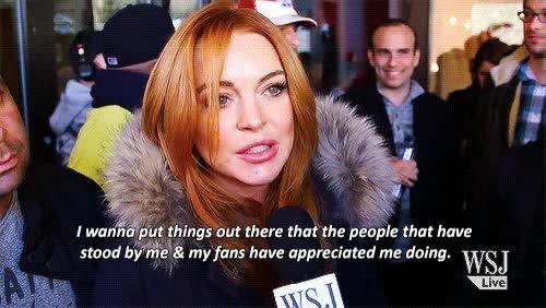 Watch and share Lindsay Lohan Sundance Gif GIFs on Gfycat