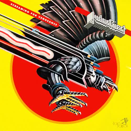 Watch judas priest GIF on Gfycat. Discover more gif, heavy metal, illustration, judas priest, metal, music, screaming for vengeance GIFs on Gfycat