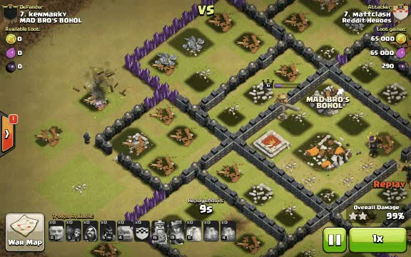 Watch and share [Misc] One Of My Members Managed To Pull This One Off After Forgetting To Bring A Jump Spell. (reddit) GIFs on Gfycat