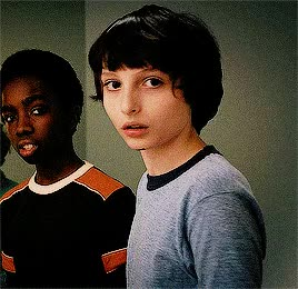 Watch this finn wolfhard GIF on Gfycat. Discover more caleb mclaughlin, finn wolfhard, mike wheeler, netflix, stranger things GIFs on Gfycat