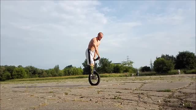 Watch and share Unicycle GIFs and Sports GIFs on Gfycat