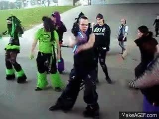 Goth Dance Gif 6