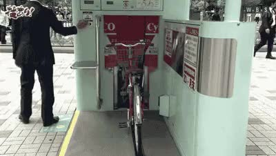 Watch and share Bicycle Parking GIFs on Gfycat
