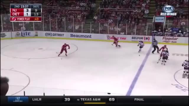 Watch and share Detroit Red Wings GIFs and Dylan Larkin GIFs by betweenthecirlces on Gfycat