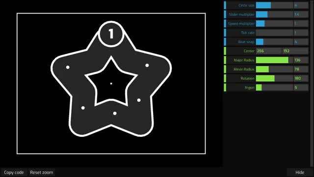 Watch and share I've Made A Program That Allows For Easier Creation Of Cool Geometric Slider/patterns. (reddit) GIFs on Gfycat