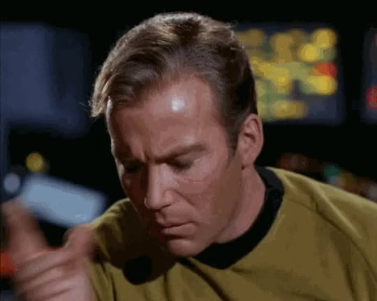 Watch and share William Shatner GIFs and Star Trek GIFs by Kamillentee und etwas Honig on Gfycat