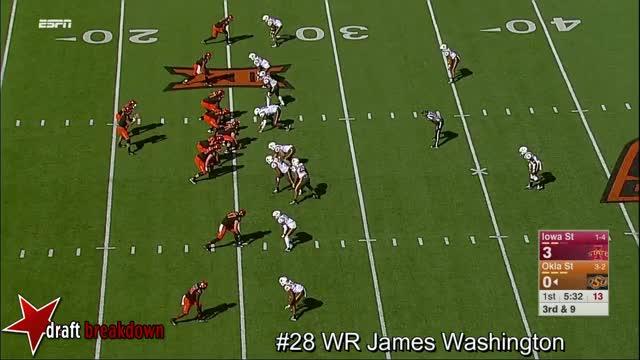 Watch and share WR James Washington Vs Iowa State 2016 GIFs on Gfycat