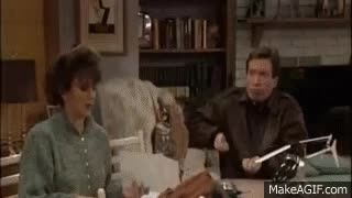 Watch and share Tim Allen Shoveling Manure GIFs on Gfycat