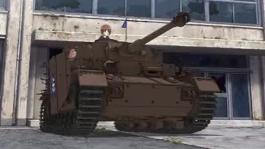 Watch and share Tank Drifting [Girls Und Panzer] : Animegifs GIFs on Gfycat