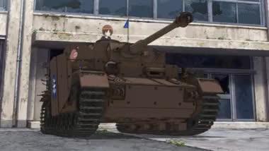 Tank Drifting [Girls und Panzer] : animegifs GIFs