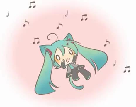 Watch Miku ♥ GIF on Gfycat. Discover more Miku Hatsune GIFs on Gfycat
