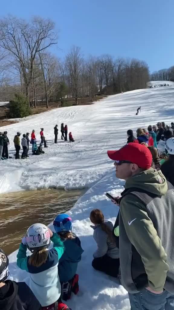Watch and share Pond Skimming GIFs by HellsJuggernaut on Gfycat