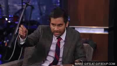 Watch and share Aziz Ansari Imitates R. Kelly GIFs on Gfycat