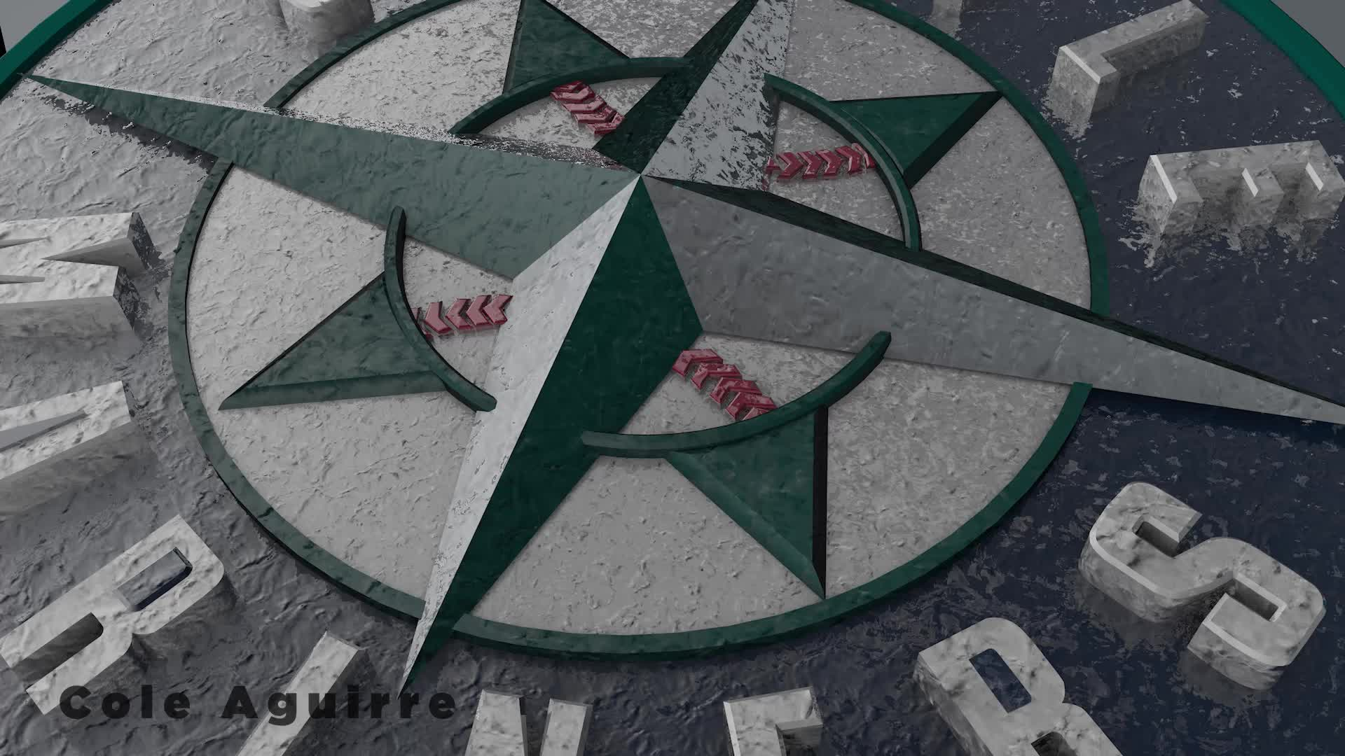 ColeAguirre mariners logo animation GIFs