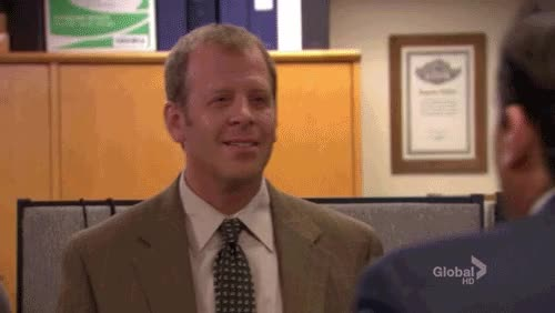 Watch and share Toby From The Office GIFs on Gfycat