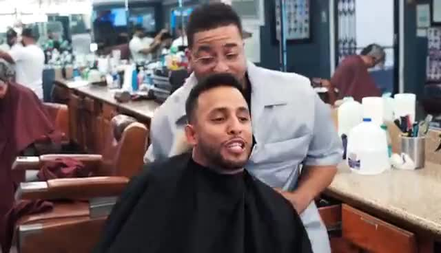 Cheating On Your Barber | Anwar Jibawi GIFs