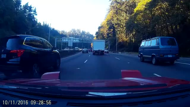 Watch Van ignores box truck changing lanes into them for almost too long GIF by @langly on Gfycat. Discover more Autos & Vehicles GIFs on Gfycat