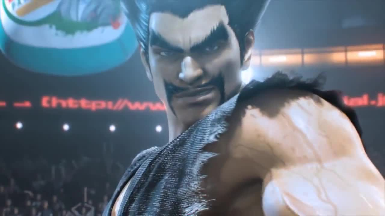 Bandai, Cary17, Gaming, Harada_TEKKEN, JayCee, King, Marduk, Miguel, Namco, Tag, Tekken, Tournament, Tekken Tag Tournament 2 Arcade Intro [HD] GIFs