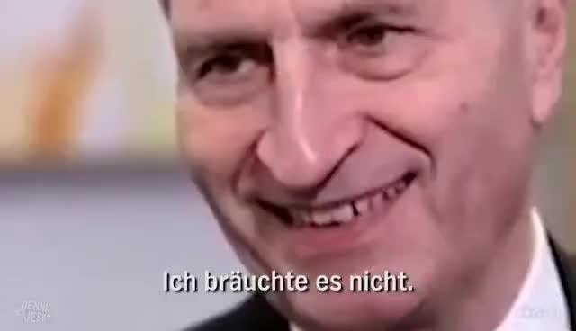 Ein Lied für Günther Oettinger | extra 3 GIFs