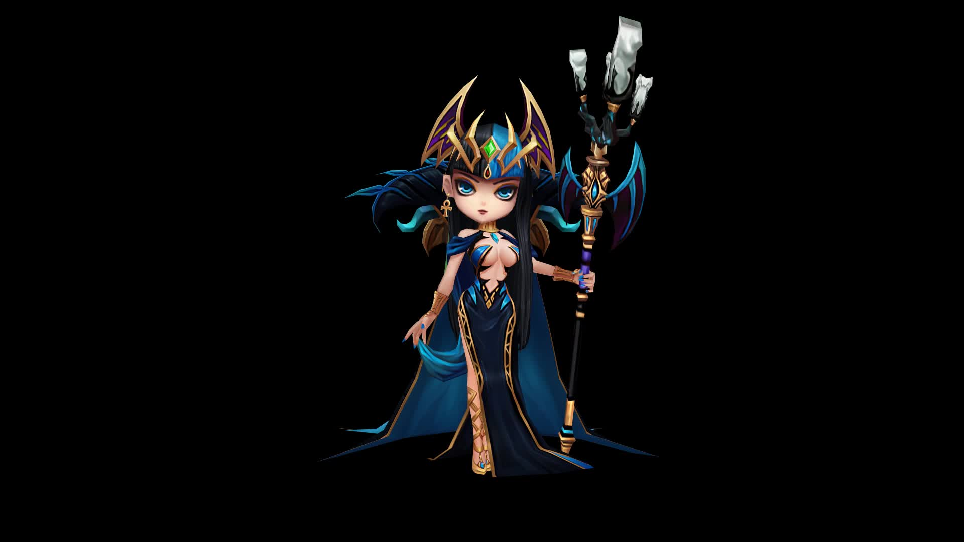 Summonerswar, Desert Queen GIFs